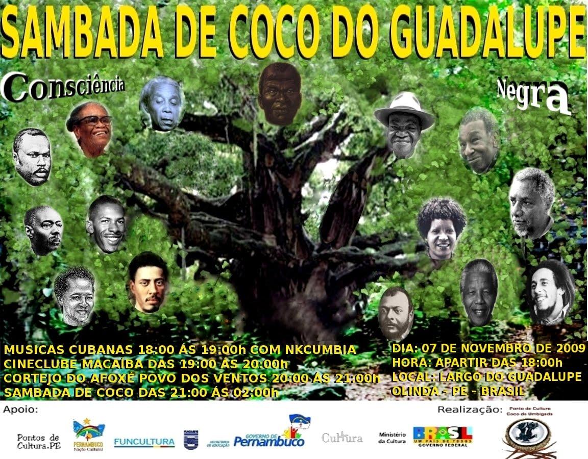 >Sambada de Coco do Guadalupe: dia da Consciência Negra