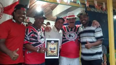 Maurício Baterilha, Mestre Arerê, Hernane Siqueira, Higino Mandriola e Marcelo Santos