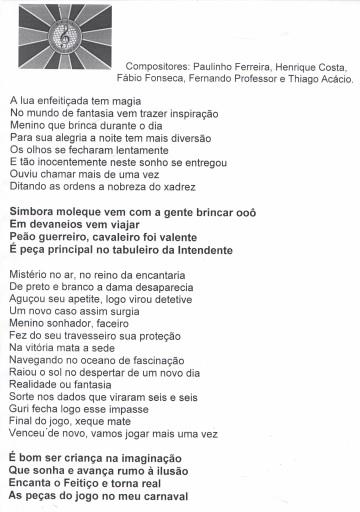 Samba 1 Feitiço