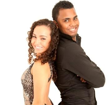 Luiz e Natasha Lima - Foto - Freitas Domingão