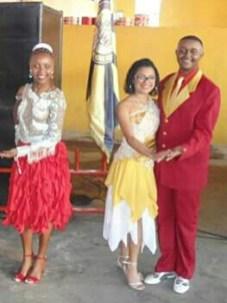 A PB Gaby Oliveira e o 2º Casal de MS e PB, Hugo Almeida e Rafaela Fernanda, da Leão