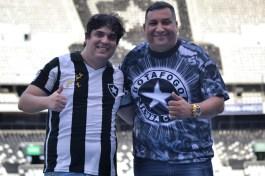 Rodrigo Marques e o presidente Sandro Lima