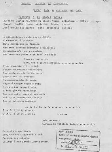 Alegria Samba