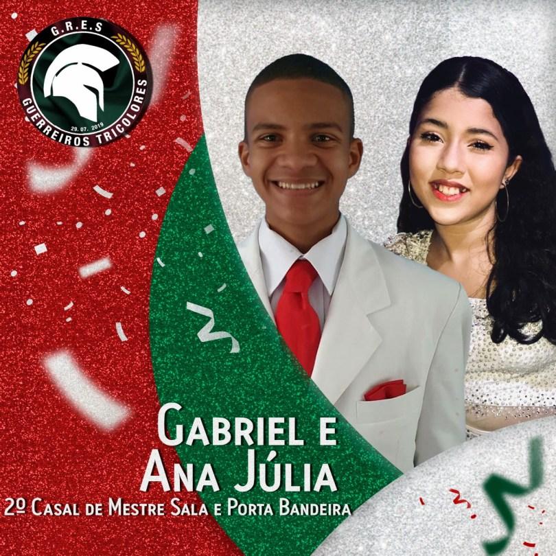 2º Casal de MS e PB - Gabriel e Ana Júlia