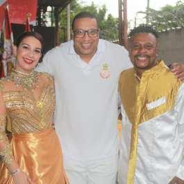 Concentra Imperial com Jennifer Diniz e o Diretor de Carnaval Júnior Diniz