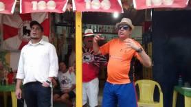 Hernane Siqueira à esquerda e José Carlos Lisboa à direita