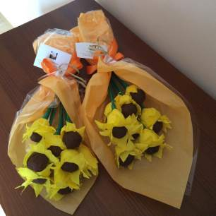 bouquet de girassois 1
