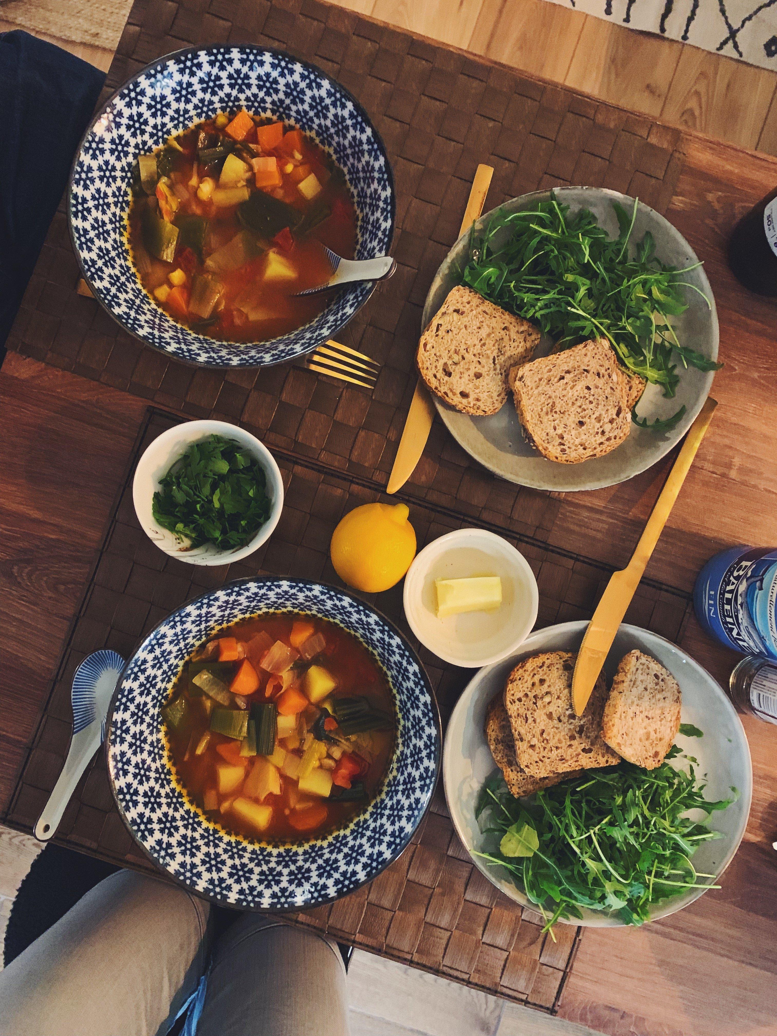 Vegetable Soup Instant Pot