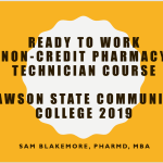 September/October 2019 Pharmacy Tech Lessons — Lawson State Community College Bessemer Campus