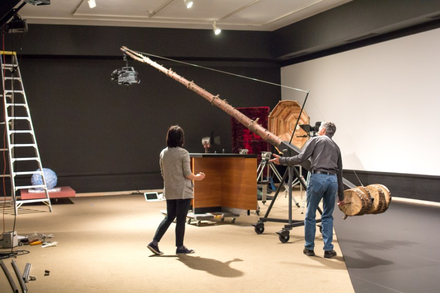 Installing Paradox of Place at the Asian Art Museum
