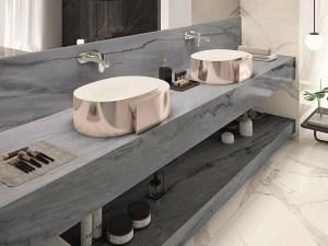 Porcelanato Sobre de Cocina Grigio Veneziano