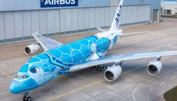 Airbus rolls out first A380 for ANA