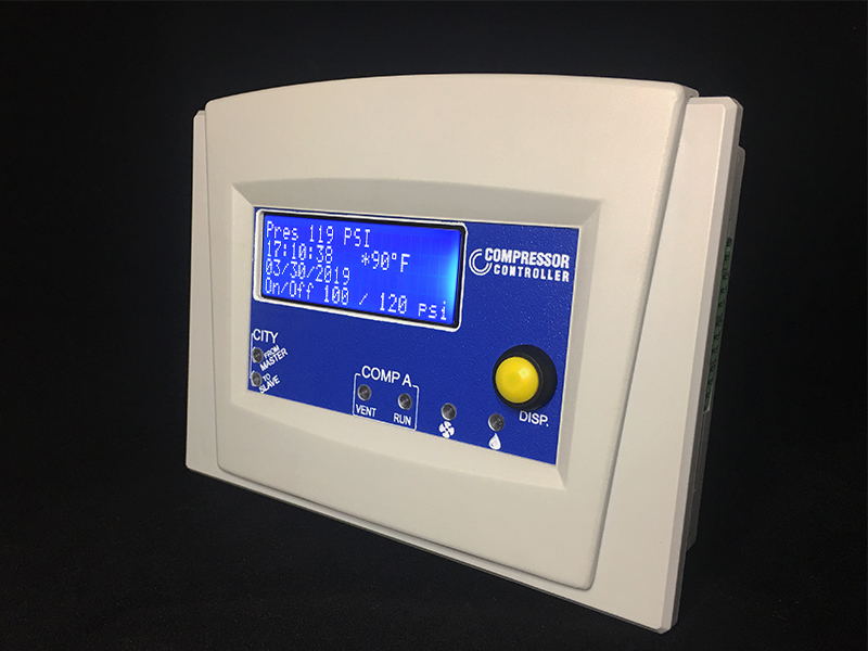 Compressor Controller for Single Pump electric air compressors – SAM