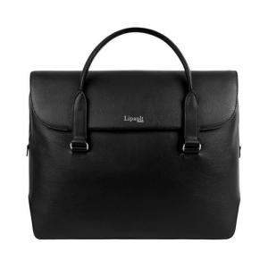 Lipault Plume Elegance laptop bailhandle zwart