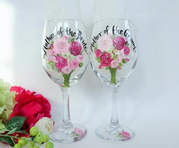 Flower Bouquet Glasses