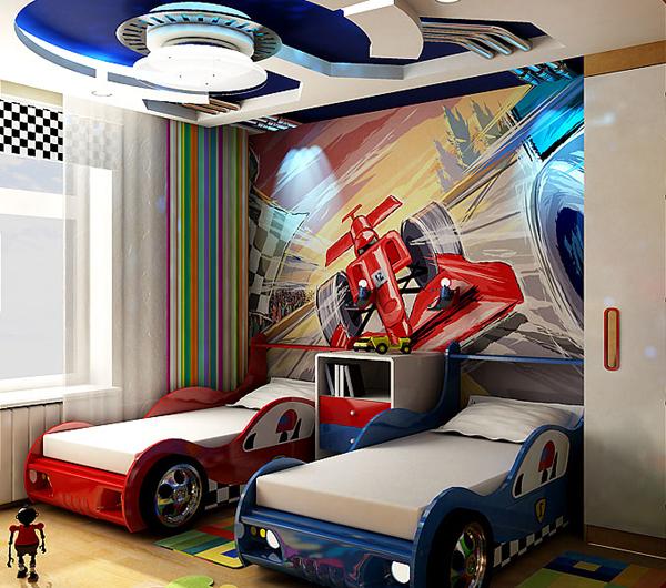 Фото детских комнат для двоих детей