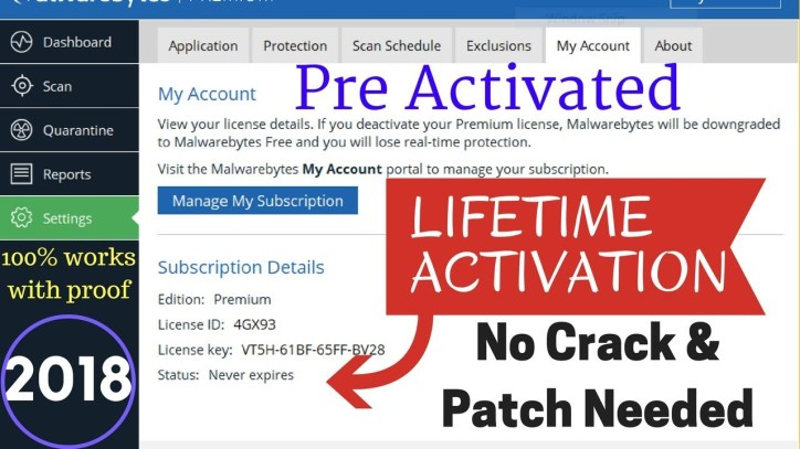 MalwareBytes Anti-Malware premium preactivated setup