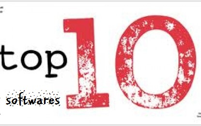 top 10 softwares for PC