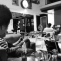 One day in openmic.. lousy place no audience.. :(