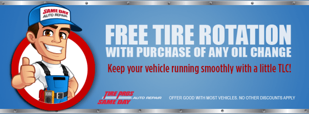 Free Tire Rotation Same Day Auto Repair