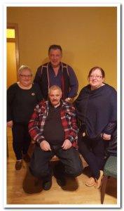 Etter møtet med lokallagsleder Geir Steinar Angell i Nordkyn samiske forening