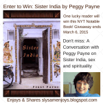 Sister India Features Spirituality and Sex (Author interview and Giveaway) #Indianovel