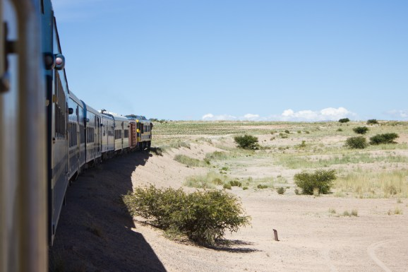 The train from Villazón (town at the Bolivian border) to Uyuni