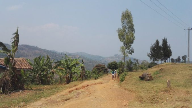 Cycling the Congo Nile Trail