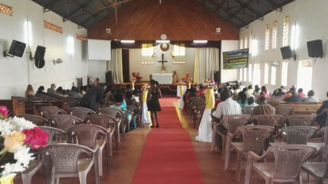 Uganda Church Wedding