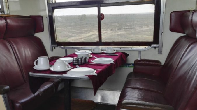 Tea Service on The Lunatic Express