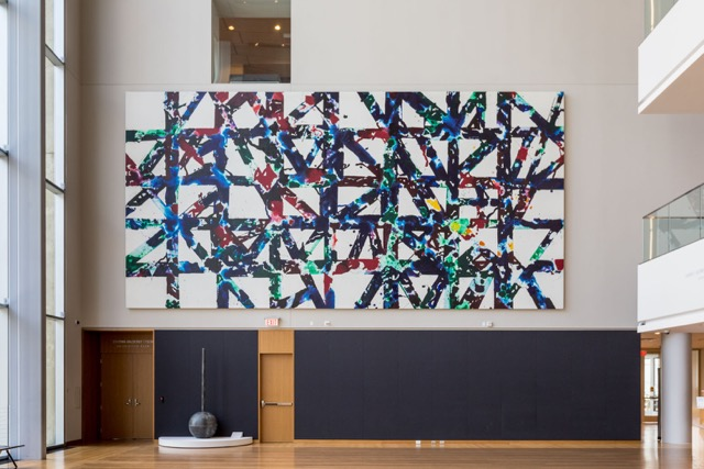 Untitled (Seafirst), 1979, acrylic on canvas. Generously Donated by Bank of America Corporation. Collection of The Mint Museum, Charlotte, North Carolina.
