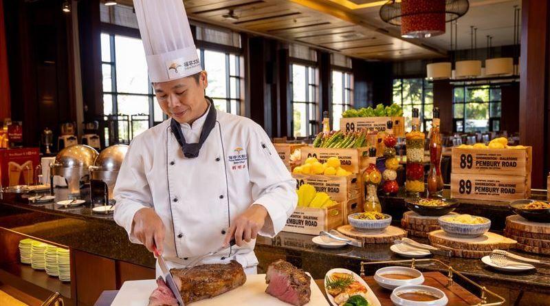身分證「1、0」花蓮福容大飯店自助晚餐爽吃