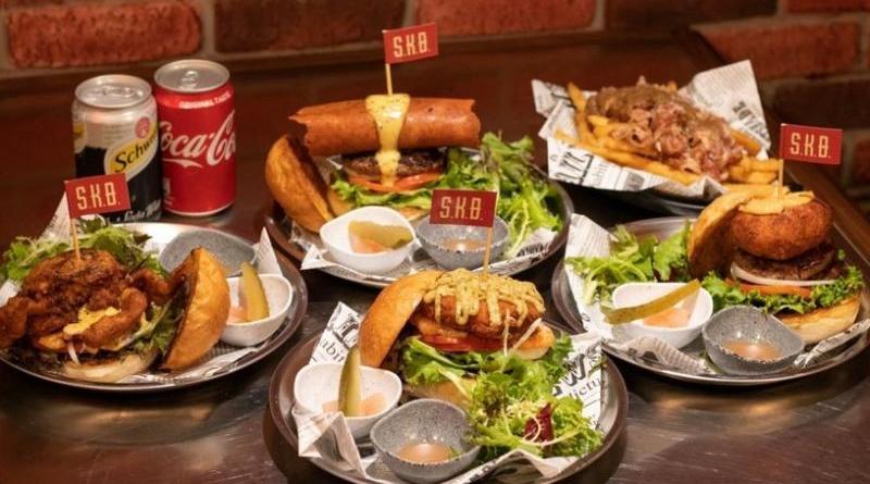 新開幕!台北市大安區SKB新美式漢堡專賣店
