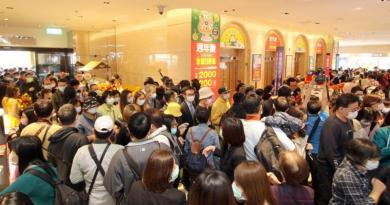新光三越台北站前加碼「大衣均一價2千」京站周三迎戰
