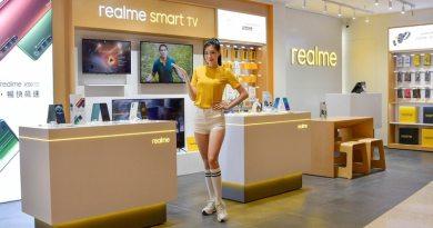 realme三創生活園區專櫃開幕 多款手機商品優惠