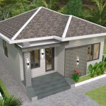 House plans 7.5x8.5m with 2 bedrooms 25x29 Feet 2