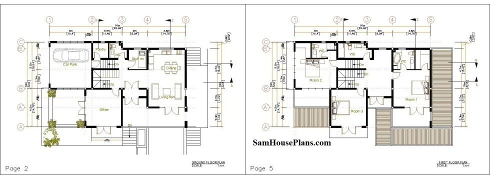 House Plan 10x16