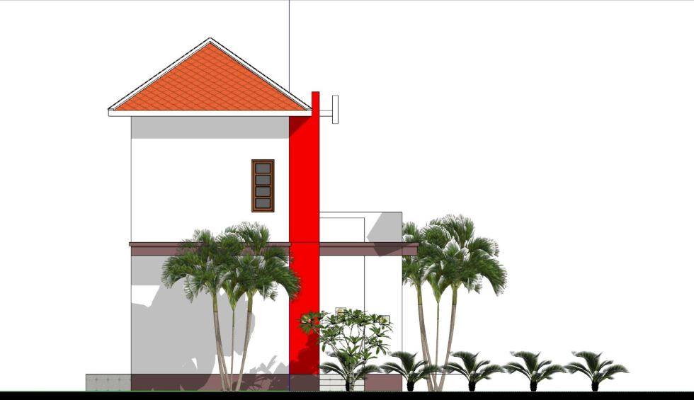 House Plans 8x7 with 2 Bedrooms left