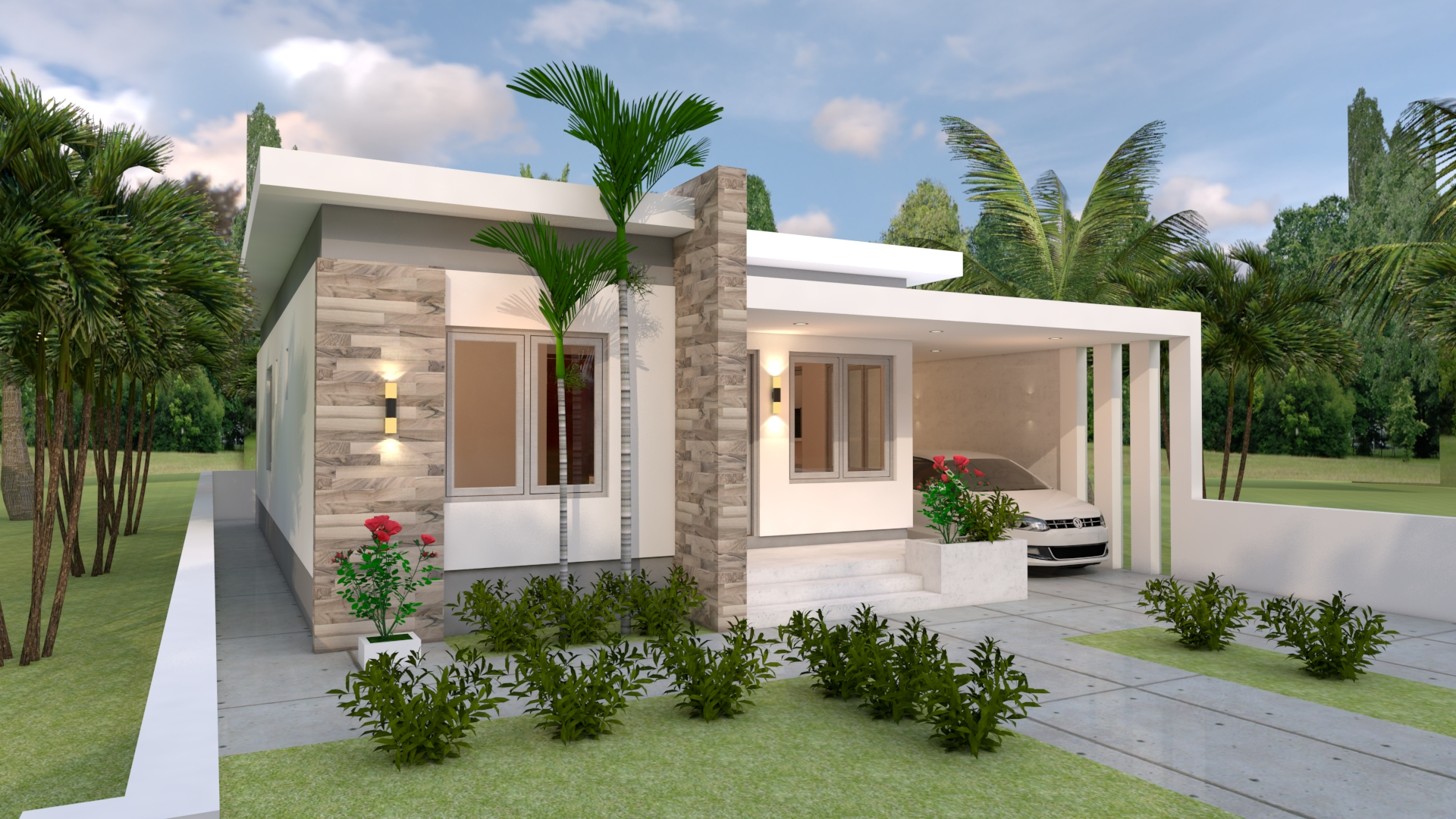 House Design Plans 10x13 With 3 Bedrooms Sam House Plans