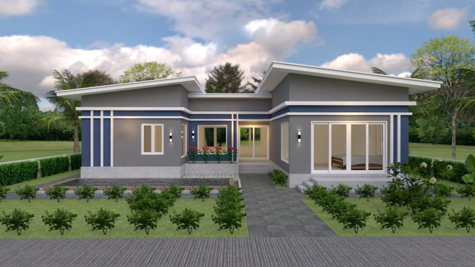 House Plans idea 17x13 with 3 Bedrooms 2