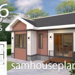 2 Bedroom Small House Floor Plan Design Novocom Top