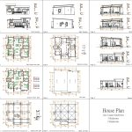 House Plans 12x12 Meter Shed roof 40x40 Feet all