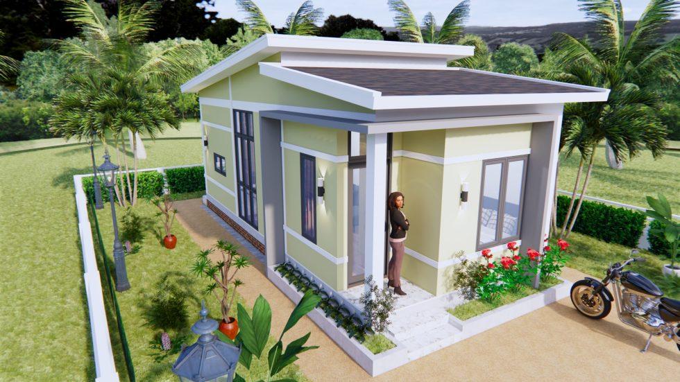 Small House Design Idea 4x9 Meters 36sq.m