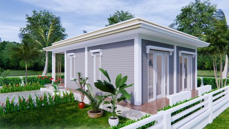 Best Small House Designs 9x6 Meter 30x20 Feet 2 Beds 3