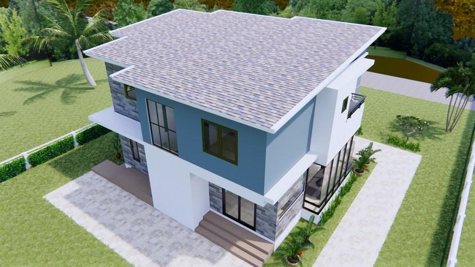 Home Plans 11x8 Meter 36x26 Feet 3 Beds 7