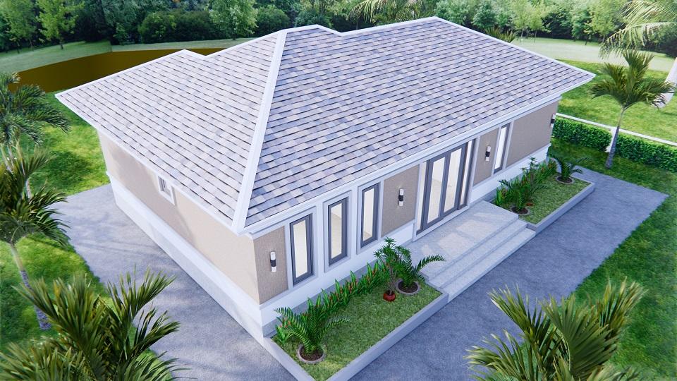 Modern Farmhouse Designs 12x8 Meters 40x26 Feet 3 Beds 6
