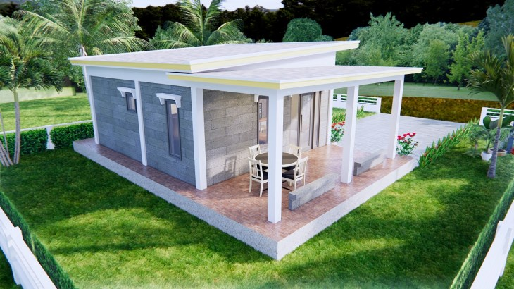 Small Home Floor Plans 9x6 Meter 30x20 Feet 2 Beds 5