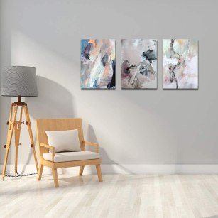 Meigan Art Canvas Wall Art Abstract Painting