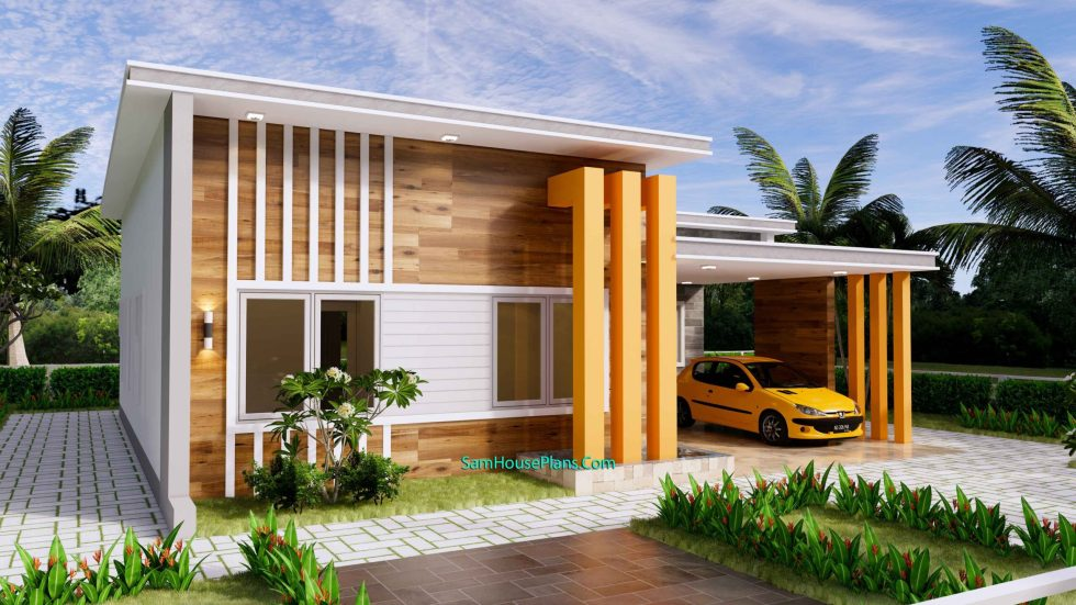 12x11 House Plans 3 Bedrooms 40x36 Feet Terrace Roof 6