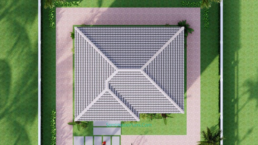 23x19 Small House Design 7x6 M PDF Full Plans Roof Roof